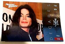 MICHAEL JACKSON 2011 Panini PLATINUM Decades SP #159 The King Of Pop VERY RARE