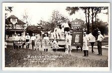 Evanson~Northwestern University~NWC Booster Day Parade~Pillsbury Flour~1914 RPPC