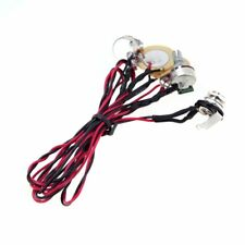 Dual Piezo Pickup Pick-up 6.35mm Jack with Volume Tone Control WS A8Y7