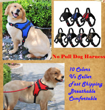 No Pull Dog Pet Harness Adjustable Control Vest Breathable Xs S Medium Large Xl