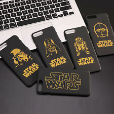 New Gold Design Star Wars Character Hard Case For iPhone 5S 6S 6 Plus 7 8 Plus
