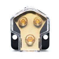 Car Audio Strom- / Bodenverteilungsblock 2-Wege-Bootsverteilungsblock 1 In-2 Out