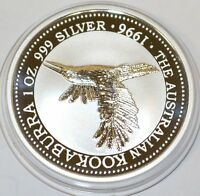 Australien 1 Dollar 1996 Kookaburra 1 oz Silber Unze Australia silver coin Unze
