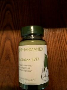 Nu Skin BioGinkgo 27/7 Supports Memory Concentration Mental Sharpness exp 05/22