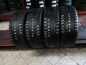 gomme pneumatici usati 205 55 16 pirelli  4unità euro 129,60