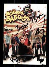 The Wild Bobbin baboons AUTOGRAFO MAPPA ORIGINALE FIRMATO # BC 72732