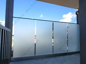 90 cm x 2 m - Plain Frosted Removable Self Adhesive Window Glass Film