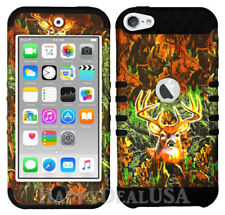 For Apple iPod Touch iTouch 5 | 6 - KoolKase Hybrid Cover Case - Camo Mossy Deer