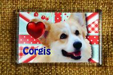 Corgi Gift Dog Fridge Magnet 77x51mm Birthday Gift