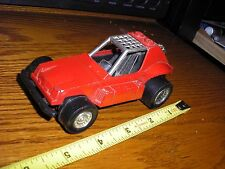 """1/32 ? 5"""" Vintage Tootsie Toy Dune Buggy Rail Race Sand Car Red"""