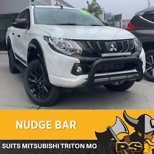 Nudge Bar For Mitsubishi Triton MQ 2015-2018 Stainless Steel Grille Guard