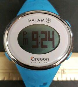 Oregon Scientific GAIAM Zone Trainer Heart Rate Monitor Watch SE331 New Battery