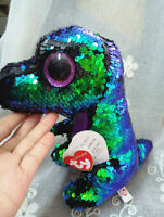 New Ty Beanie Boos Sparkle The Special Dinosaur Dragon Plush Stuffed Toy 10""