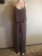 URBAN K Women's Jumpsuits  Romper Brown Size L Sleeveless One piece