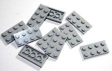 10x LEGO® Platte 2x4 3020 NEU Hellgrau Light Bluish Gray
