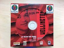 Lo Mejor Que Tengo by Wellington (2000 CD) PROMO ***
