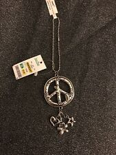 Brighton Peace Sign Key chain