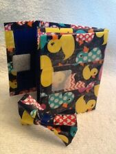 Duct Tape Accordian Wallet with Free Accessory-Portion of Proceeds to Breast Can
