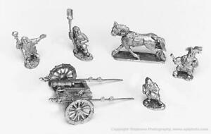 Old Glory Ghost Mini Dwarven Horse Artillery w/Crew Pack New