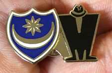 PORTSMOUTH POMPEY - MADNESS TWIN  ENAMEL PIN