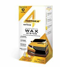 Rust-Oleum 345537 Factor 4 Synthetic System Car Wax