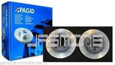 Pair OEM Pagid Porsche 987 Cayman S 3.4 Sport 08 2 12 Rear Brake Discs 54767 NEW