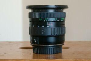 Cosina 19-35mm f/3.5-4.5 AF  Wide Angle Lens Canon EF Mount EF-S Zoom