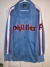 PHILADELPHIA PHILLIES Cooperstown Collection Full Zip Jacket Majestic Adult XL