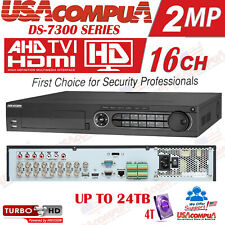 Hikvision 16 CHANNEL DVR 16CH DS-7316HGHI-SH 4TB TVI/AHD,CVI CVBS 2MP +8CH IP