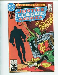 Justice League of America #224 - 1st Appearance of Paragon - High Grade!