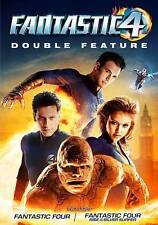 Fantastic Four/Fantastic Four: Rise of the Silver Surfer (DVD, 2016, 2-Disc  New