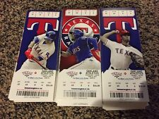 2015 TEXAS RANGERS PICK YOUR GAME TICKET STUB JOEY GALLO HAMELS DEBUT PART 2