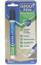grout PEN Revives & Restores old grout. ANTI-MOULD Now available in 9 colours