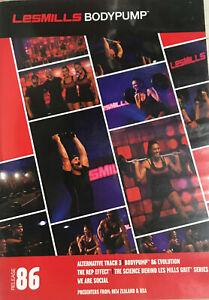 Les Mills BODYPUMP 86 DVD, CD, Notes body pump