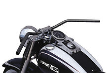 Lucas Manubrio flyerbar nero con ABE per Harley Davidson Softail modelli