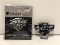 Lot of 2 LLWS Pins MLB Classic 2019 Exclusive NEW NIP Little League World Series