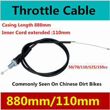 880/110 Motorbike Accelerate Throttle Cable DirtBike 50cc 70cc 110cc 125cc 150cc