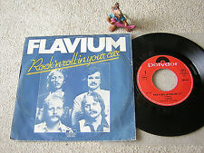 """FLAVIUM Rock´n Roll In Your Car / I´ll Be No.. 1979 NL 7""""+PS POLYDOR 2050 601"""