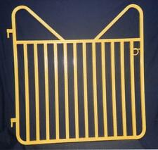 "Standard Medium 48"" x 48"" Horse Stall Gate - Black"