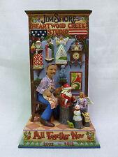 Jim Shore All Together Now 10th Anniversary Jims Studio L/E Figurine 4027762