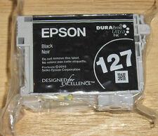 GENUINE Epson Ink 127 T1271 BLACK workforce 545 630 645 NX530 NX625  Extra High