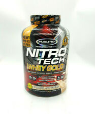 MuscleTech NitroTech Whey Gold, Cookies and Cream, 5.51LBS