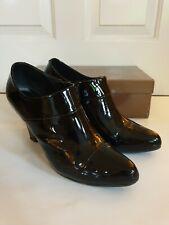 Lola Cruz Short Boots. Black Patent. Size 6