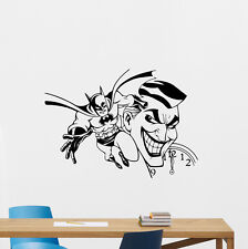 Batman Joker Wall Decal Comics Superheroes Vinyl Sticker Decor Art Poster 152crt