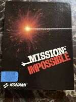 "1991 Mission: Impossible game IBM MS-DOS, Tandy 3.5"" diskette Brand New big box"