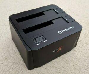 """Thermaltake ST0014U BlacX Dual 2.5/3.5"""" SATA HDD Docking Station"""