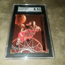 1993-94 Upper Deck SE Michael Jordan Behind the Glass #G11 SGC 8.5 NrMt Bulls