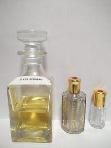 Black Afghano Concentrated Perfume Oil Attar by Swiss Arabian 3ml, 6ml, 12ml
