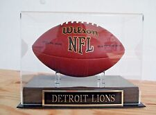 Football Display Case For Your Detroit Lions Autographed Team Football