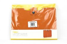 """NEW Targus Twill Laptop Sleeve for 15"""" MacBook Pro and Ultrabook - Orange"""